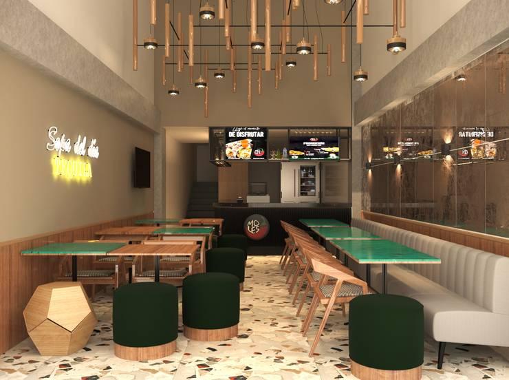 Proyecto Restaurante Mexicano :  de estilo  por ea interiorismo,