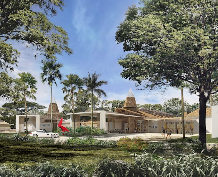 HOTEL DECAMERON BARU:  de estilo  por Mir Estudio - Arquitectura y Visualización 3D,