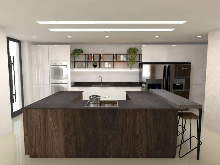 Cocinas: Cocinas integrales de estilo  por Naromi  Design ,