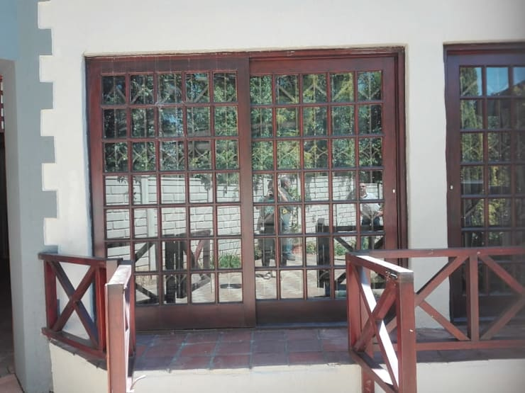 BEFORE:   by ALUWOOD WINDOWS AND DOORS,