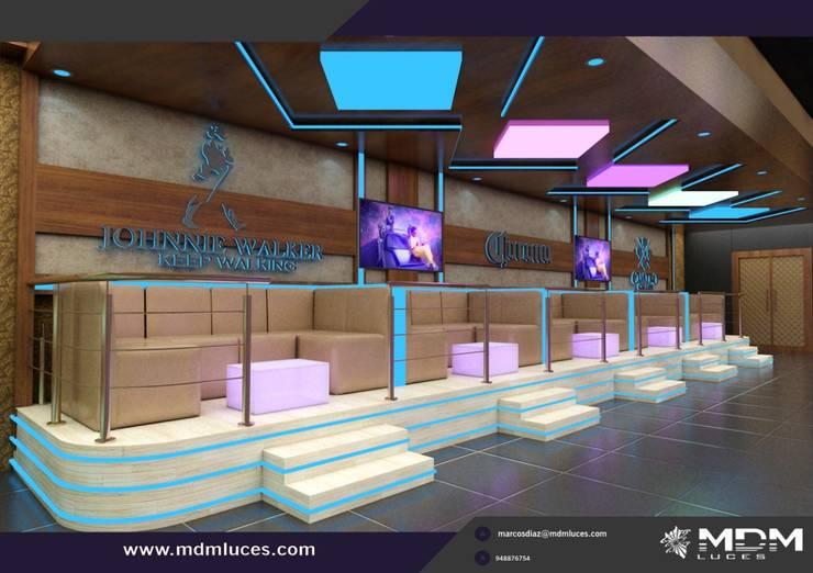 proyecto presentado por nuestro cliente: Salas / recibidores de estilo  por Decor amazonas