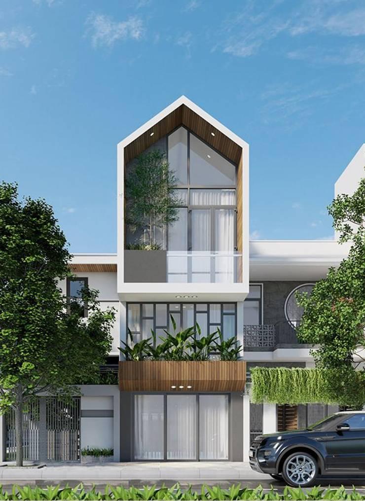 Chia sẽ 40 mẫu thiết kế nhà phố hiện đại đẹp:   by Thiết kế nhà đẹp ở Hồ Chí Minh,