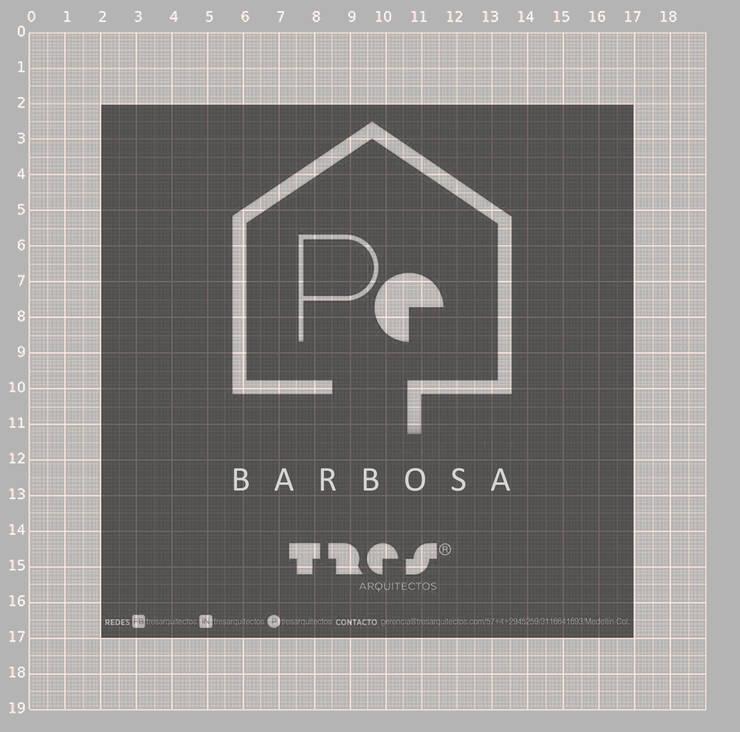 Prototipo Extend _ Barbosa: Casas de estilo  por @tresarquitectos,