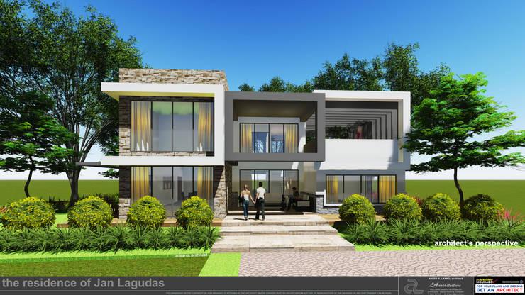 JanLagudas Residence:   by LAarchitecture,