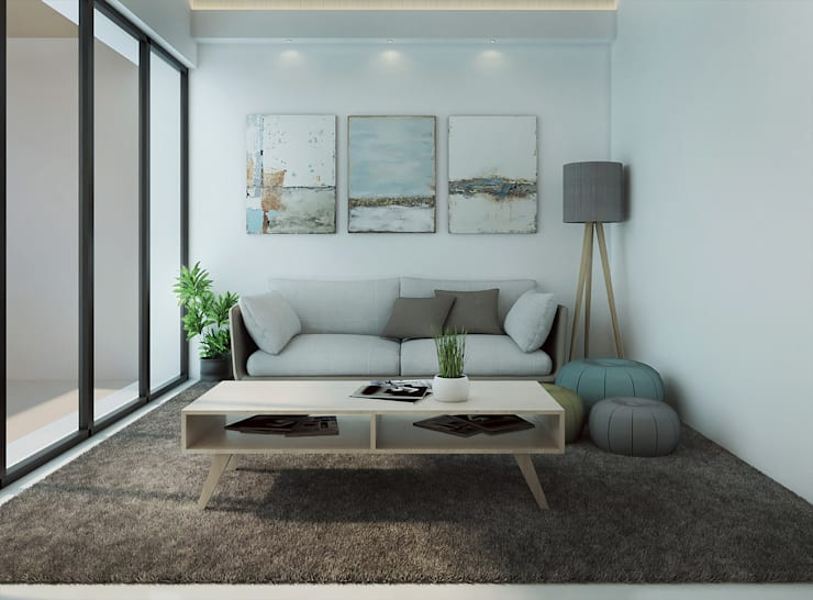 Living room by Kolletra Visual Studio,