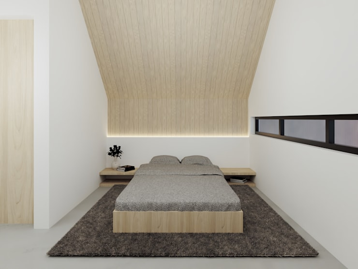Small bedroom by Kolletra Visual Studio,