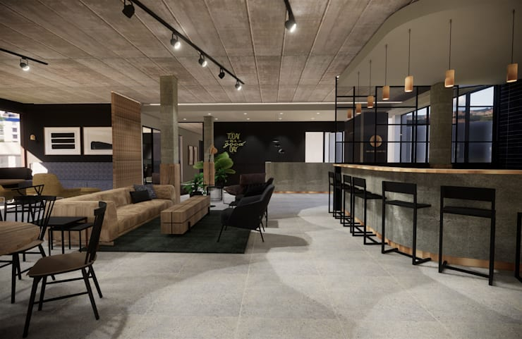Project MCW:  Commercial Spaces by Acre studio,