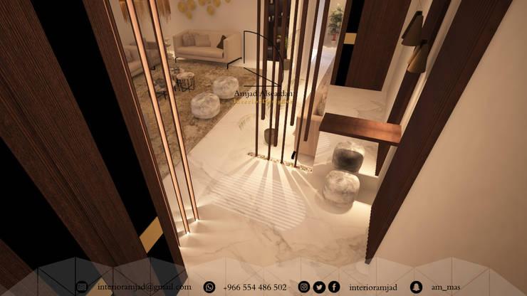 Ingresso & Corridoio in stile  di Amjad Alseaidan,