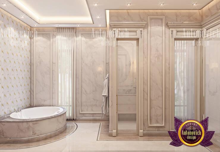 Bathroom Design Color Palette by Luxury Antonovich Design