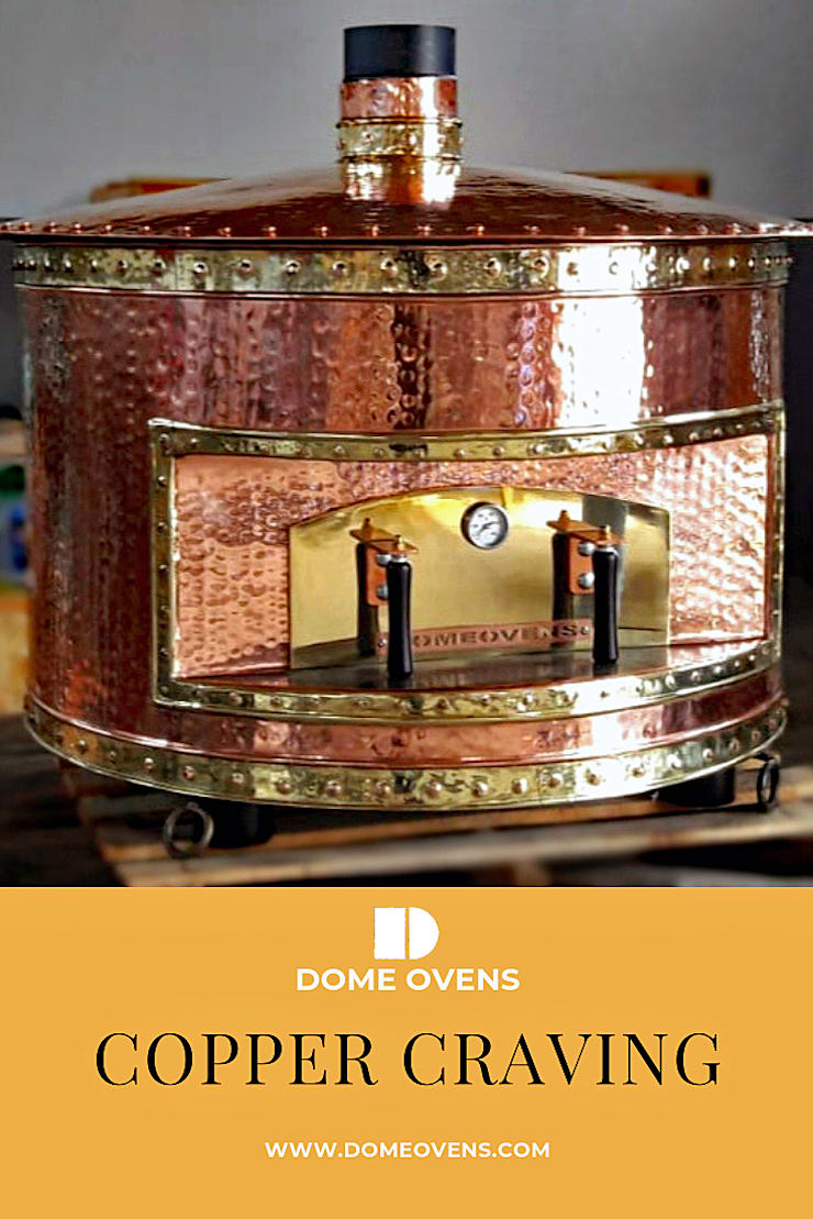Copper Model - Dome Ovens :  Kitchen by Dome Ovens®,