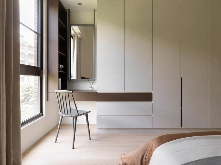 mu mu:  臥室 by 寓子設計, 北歐風