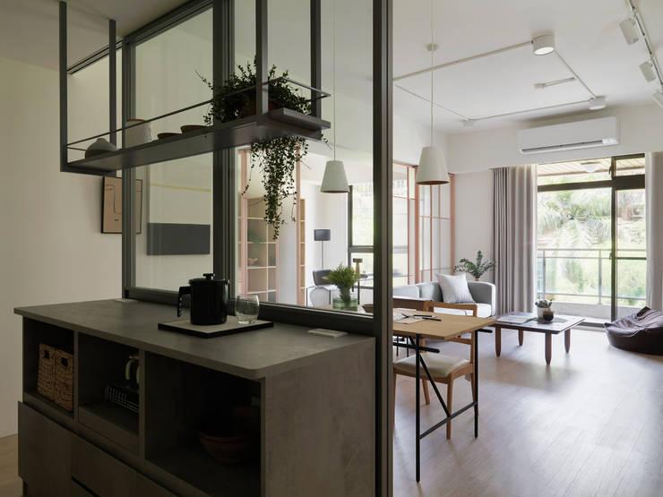 mu mu:  餐廳 by 寓子設計, 北歐風