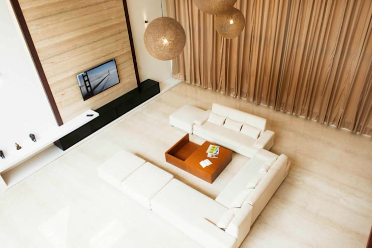 Living room by DesignQube,