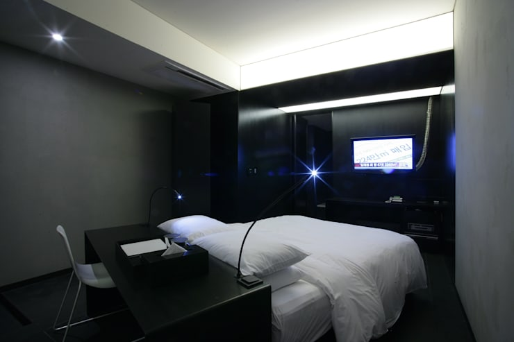 Hotel the mat (호텔 더매트): M's plan 엠스플랜의  침실,