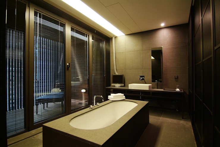 Hotel the mat (호텔 더매트): M's plan 엠스플랜의  욕실,