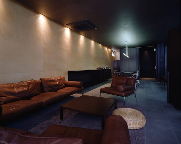 Hotel the mat (호텔 더매트): M's plan 엠스플랜의  서재 & 사무실,