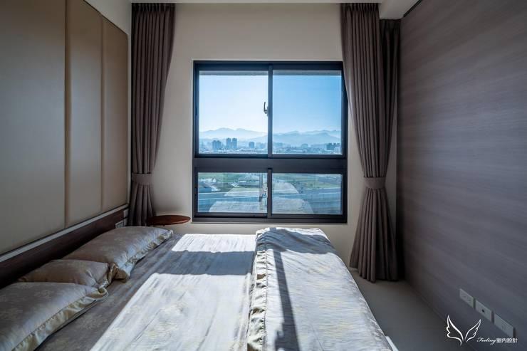 Bedroom by Feeling 室內設計, Scandinavian