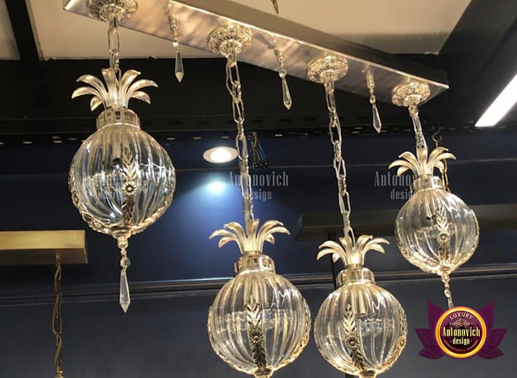 Superb Lighting and Exclusive Home Decor:   by Luxury Antonovich Design,