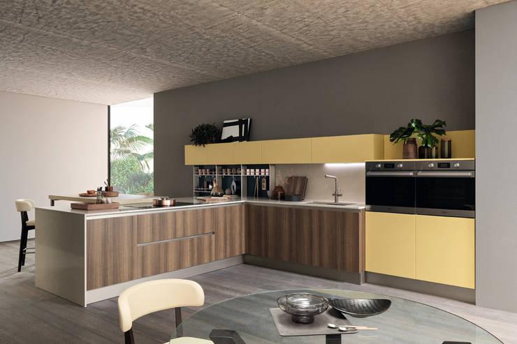 Cocina Sand : Cocinas integrales de estilo  por Gramar,
