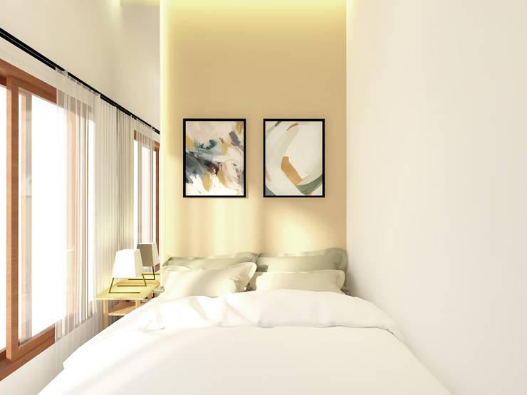 Kids Bedroom: Kamar tidur kecil oleh SEKALA Studio,