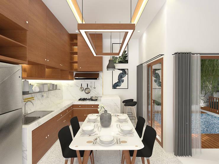 Dining Room: Ruang Makan oleh SEKALA Studio,