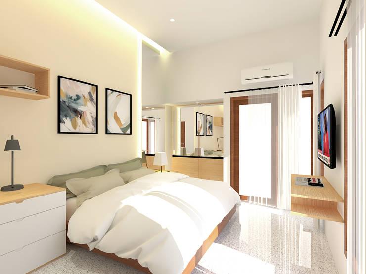 Kids Bedroom: Kamar Tidur oleh SEKALA Studio,
