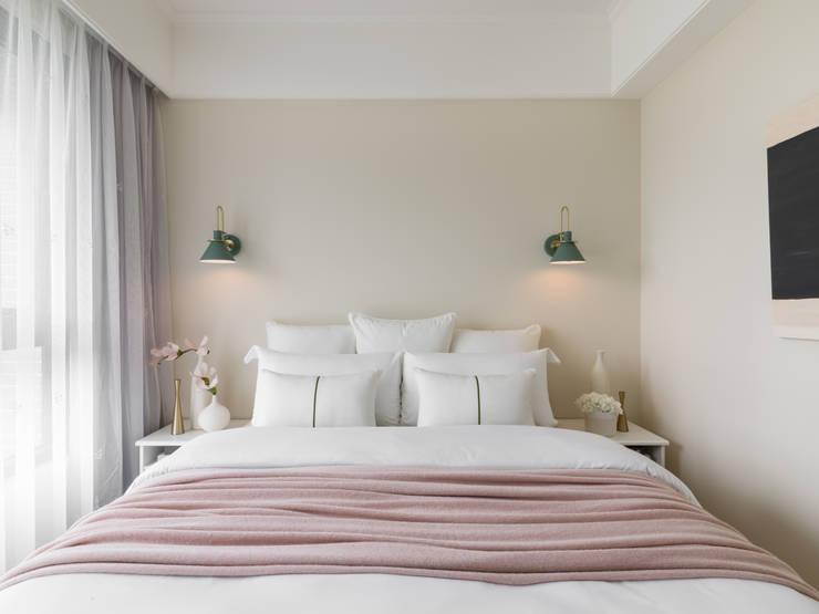 Dormitorios de estilo  por 存果空間設計有限公司, Colonial