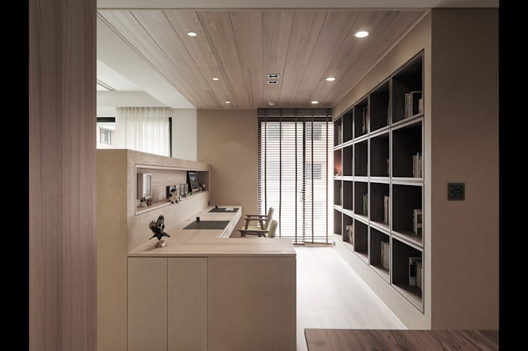 Study/office by 形構設計 Morpho-Design, Modern