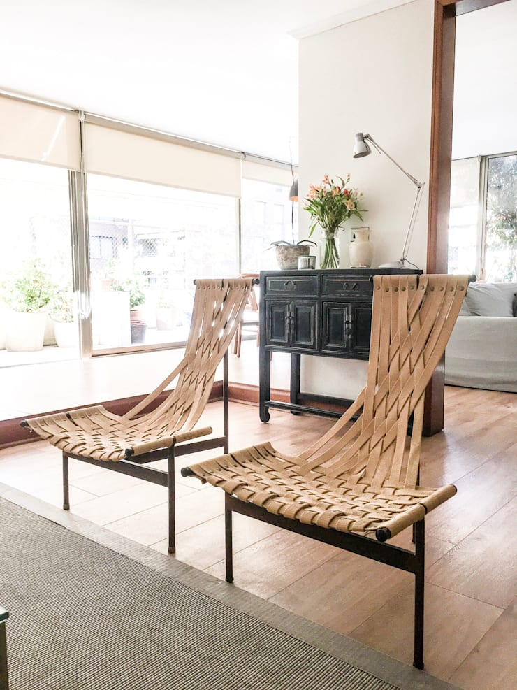 Proyecto el Golf: Livings de estilo  por Casa Nómade, Moderno