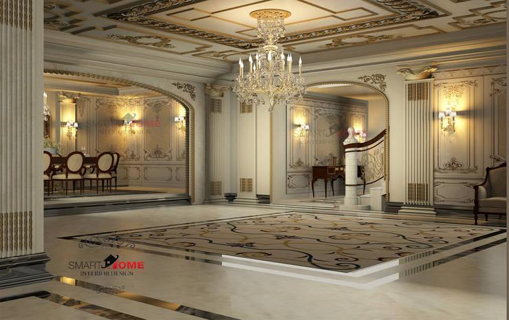 entrance راهرو سبک کلاسیک، راهرو و پله من smarthome كلاسيكي رخام