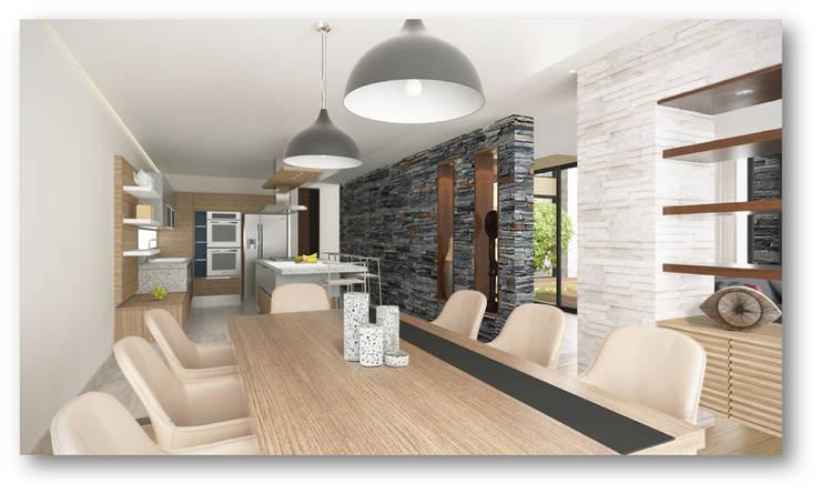 MONTEVERDE RESERVADO CONDOMINIO CAMPESTRE: Casas campestres de estilo  por Grupo Empresarial G5 SAS,