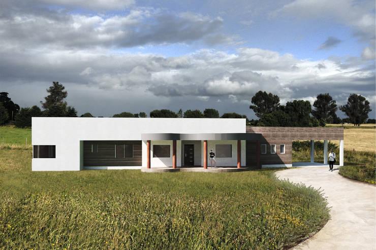 Casas rurales de estilo  de Primer Clove Arquitectos, Rural Mármol