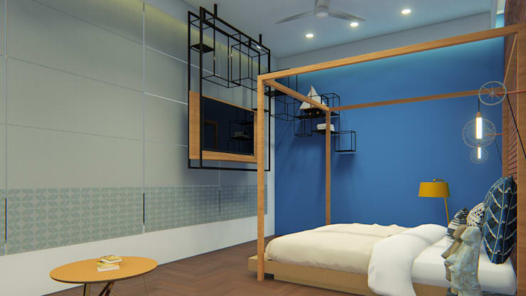 Bedroom by Architects at Work,