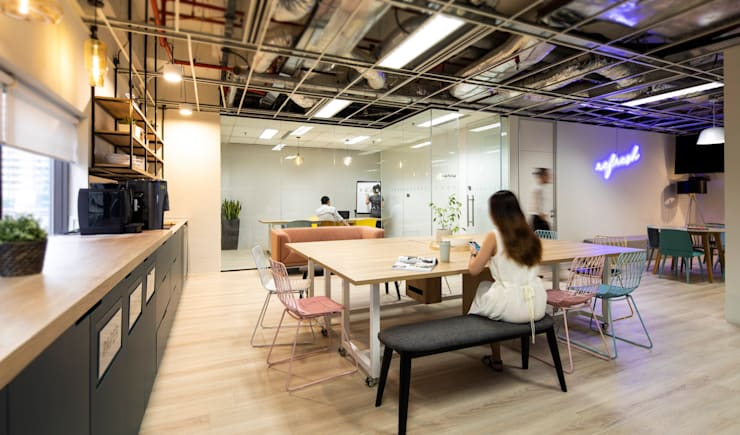 Euromonitor Asian style offices & stores by OSCA Asian