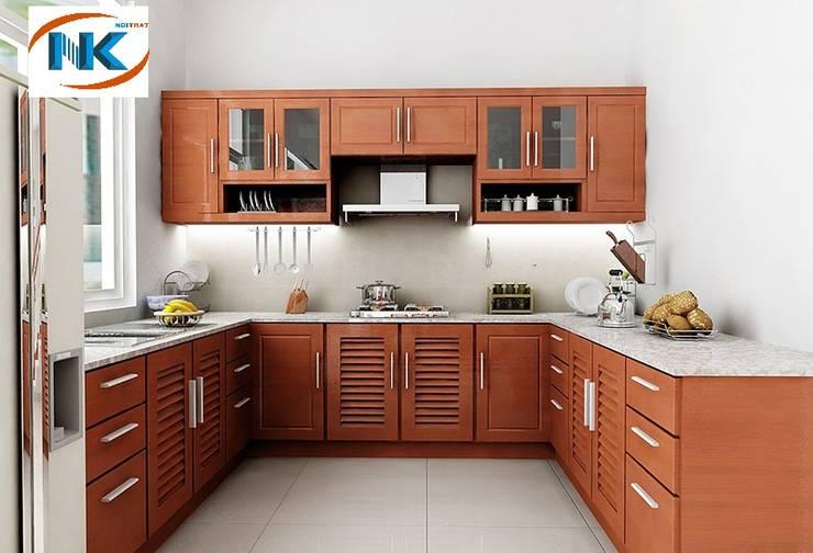 Phân loại gỗ tự nhiên đóng tủ bếp phổ biến nhất hiện nay:   by Nội thất Nguyễn Kim,