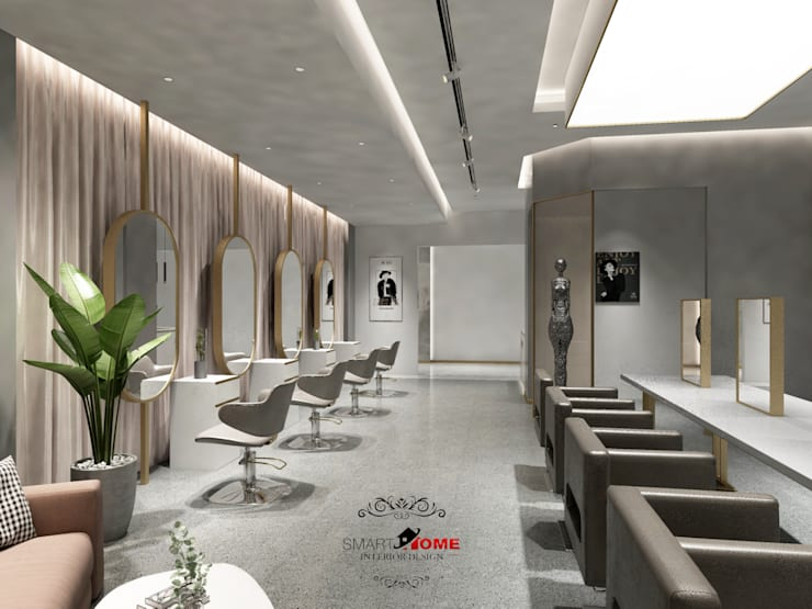 new cairo  project salon center:   تنفيذ smarthome,