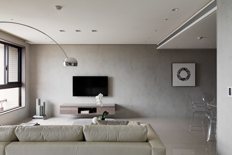 Living room by 形構設計 Morpho-Design, Modern