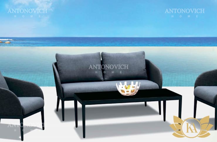 Top Newest Outdoor Furniture for Everyone:   by Luxury Antonovich Design,