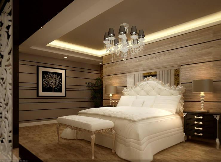 master:  غرف نوم صغيرة تنفيذ smarthome,