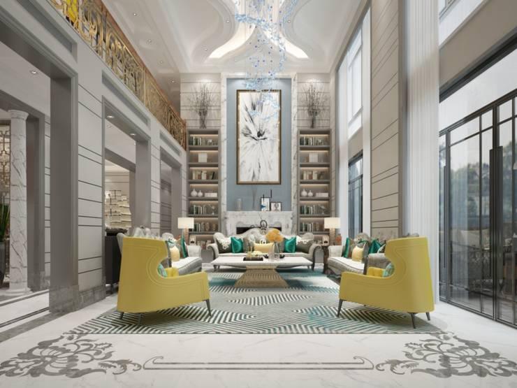living room:  غرفة المعيشة تنفيذ smarthome, كلاسيكي