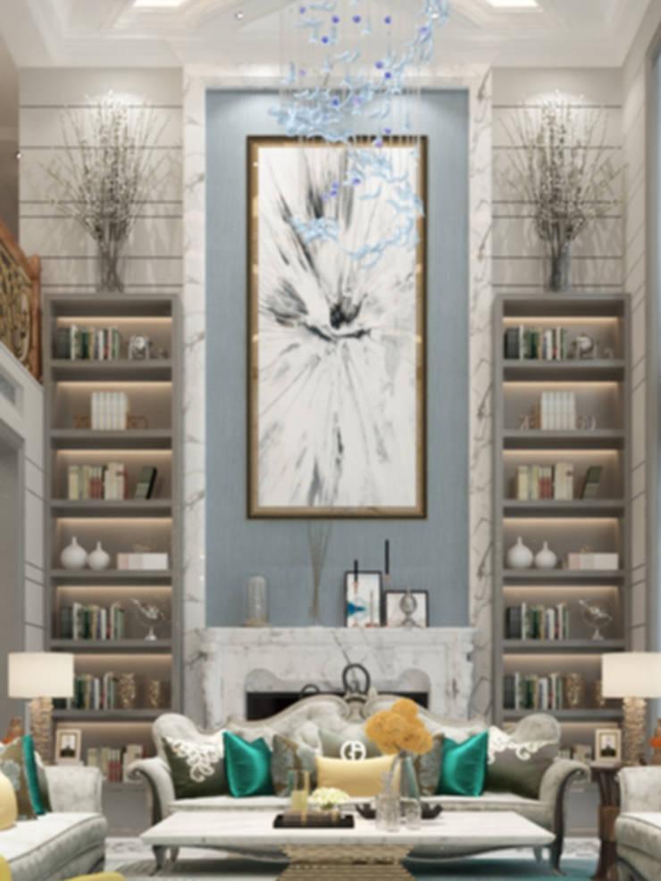 living:  غرفة المعيشة تنفيذ smarthome, كلاسيكي