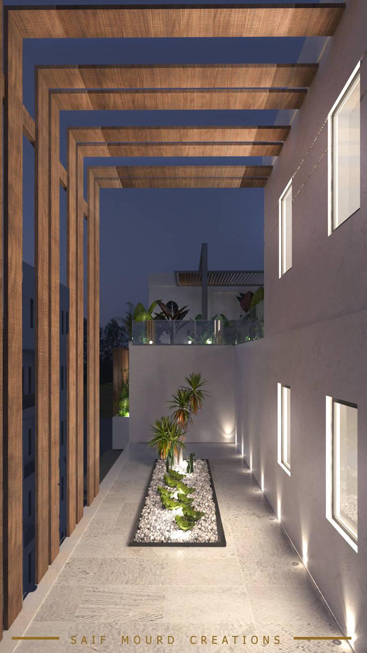 Moderne Häuser von Saif Mourad Creations Modern