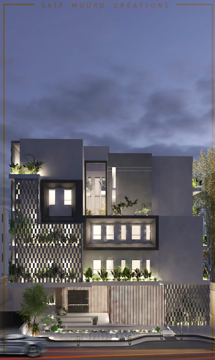 Mecca Residence :   by Saif Mourad Creations,