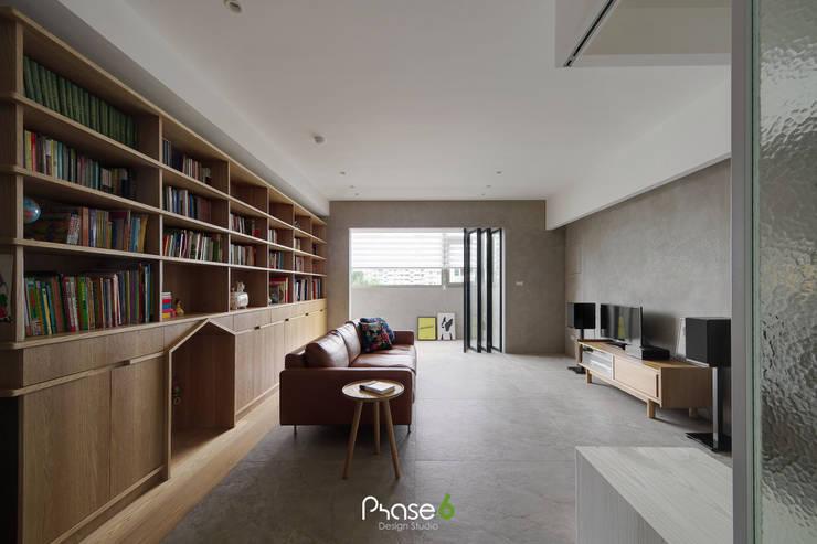 Apartment  W:  地板 by 六相設計 Phase6,