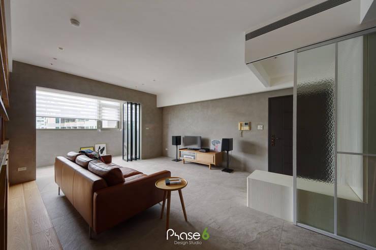 Apartment  W:  牆面 by 六相設計 Phase6,