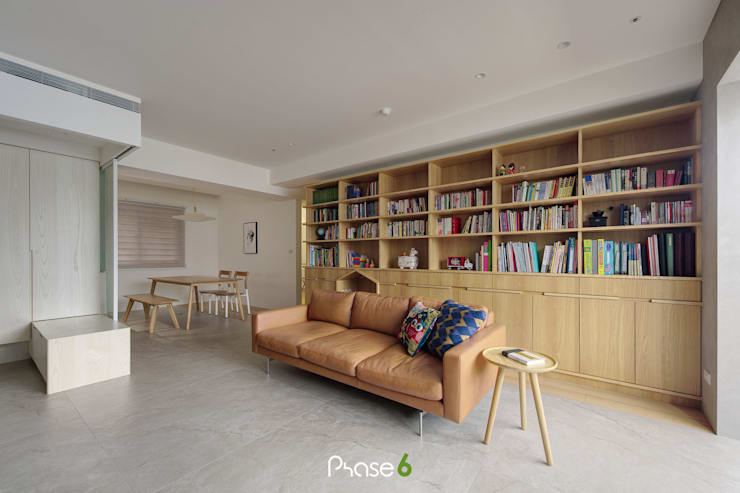 Apartment  W:  書房/辦公室 by 六相設計 Phase6,