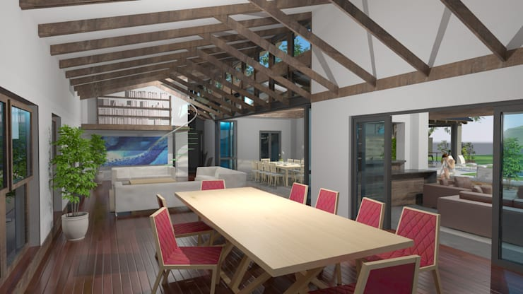 dining:  Dining room by Edge Design Studio Architects,