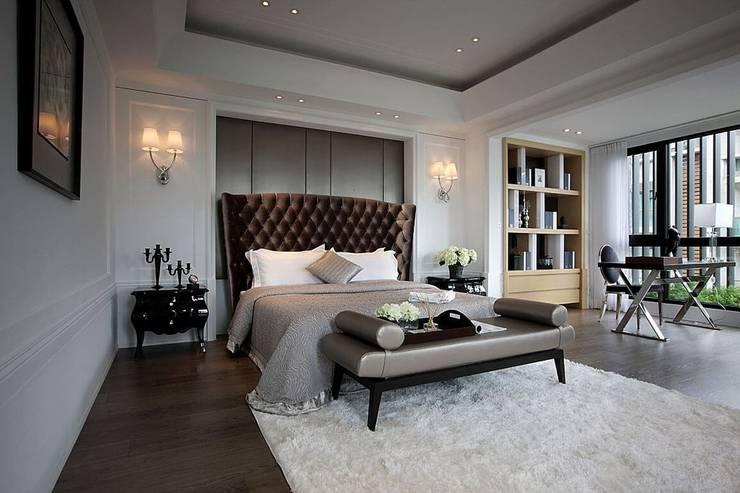 Bedroom by 大桓設計顧問有限公司, Classic