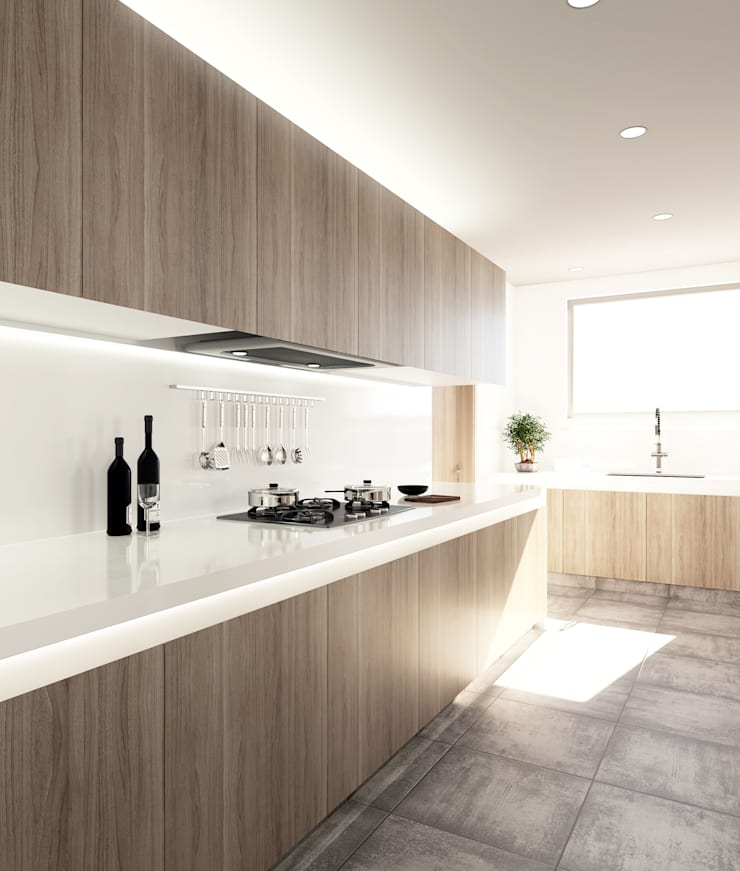 Baño y Cocina SG: Cocinas integrales de estilo  por Gamma,