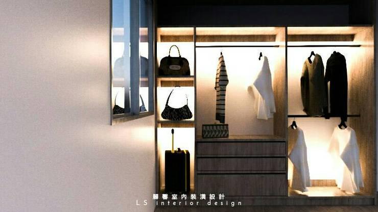 por 麗馨室內裝潢設計 LS interior design , Minimalista Madeira Efeito de madeira
